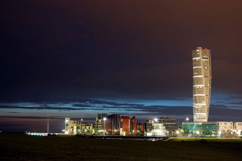 Turning_torso_by_night1